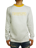 THE QUIET LIFE Soto Pullover Heather/Gold