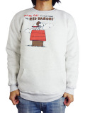 JACKSON MATISSE SNOOPY W-Face Crew Neck Sweat WHITE