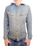 Birvin Uniform Printed G Jacket Indigo