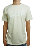 OAKLAND SURF CLUB NEW WAVE TEE NATURAL