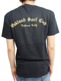OAKLAND SURF CLUB LOWRIDER TEE BLACK