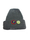 JOHN'S SURF × Lightning bolt KNIT CAP CHARCOAL
