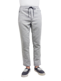 Williamsburg & Co WOOL MOSSA LONG PANTS Lt.GRAY