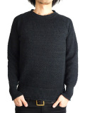 Toecutter Feather Knit Deep Crew L/S Black