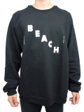 ALOHA BEACH CLUB CLUB DAGGER SWEATSHIRT BLACK