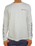 OAKLAND SURF LOWRIDER L/S TEE WHITE