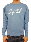 OAKLAND SURF NEW WAVE CREW SWEAT SEA BLUE