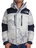 THE NORTH FACE Baltro Light Jacket WHITE WOODLAND CAMO