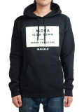 Monn Collective SLOW DOWN HOODIE BLACK