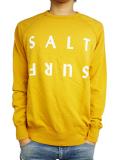SALT SURF Half reverse SWEATSHIRT Marigold/White
