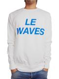 SALT SURF Le waves SWEATSHIRT White/Electric Blue