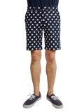 Marbles Star Printed Shorts BLACK