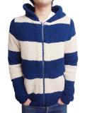 Toecutter babyhair® hoodie Navy/Beige