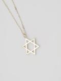 EDF Hexagram Necklace S