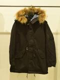ALPHA × TMT M-51 MODS COAT BLACK