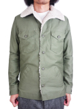 Battalion U.S ARMY BOA SHIRT JACKET OLIVE