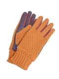 Battalion KNIT & ELECTRIC LEATHER GLOVE BEIGE