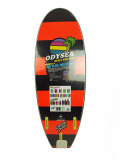 CATCH SURF STUMP 5.0-TRI FIN MILITARY GREEN/NEON ORANGE/BLACK