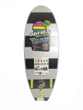 CATCH SURF ODYSEA STUMP 5.0-TRI FIN PURPLE/SILVER/BLACK