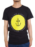 INSTED WE SMILE RLLCLT SMILEY ANCHOR TEE