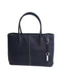DESTINY'S DIMENSION Leather Tote Bag WESTWOOD 2 MAGNETIC INC(Navy)
