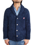 Toecutter BABY HAIR SHAWL COLLAR JACKET NAVY