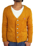 Toecutter BABY HAIR BUTTON CARDIGAN CAPIZ GOLD