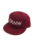 OKINAWA MADE OKNW  SNAP BACK CAP WINE