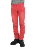 """DeeTA """"DOUGLAS"""" LOOSE SKINNY PINK RED 3D"""
