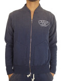 JOHN'S SURF  ZIP UP JACKET BLAST NAVY