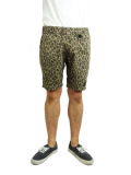 TMT LEOPARED-CAMO REVERSIBLE SHORTS