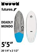 【予約商品】 MODOM DEADLY MONDO 5'5  GREY/BLUE