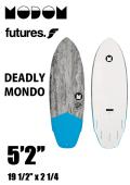 【予約商品】 MODOM DEADLY MONDO 5'2  GREY/BLUE