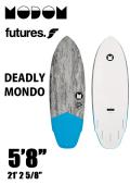 【予約商品】 MODOM DEADLY MONDO 5'8  GREY/BLUE