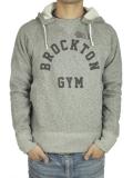 BROCKTON GYMNASIUM D-Pocket Hoody GRAY