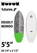 【予約商品】 MODOM DEADLY MONDO 5'5  GREY/GREEN