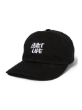 THE QUIET LIFE Jarvis Dad Hat BLACK