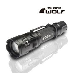 【BLACKWOLF(ブラックウルフ)】ハンディライト [リフレクタータイプ] LC-601  Cree(クリー)XLamp XM-L2 LED(ホワイト)★電源18650バッテリー 閃光ライト 米国 アメリカ