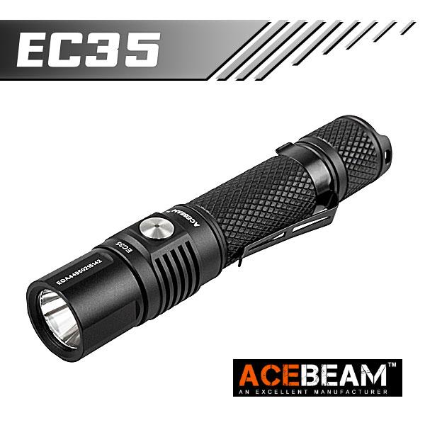 【ACEBEAM(エースビーム)】 EC35 Cree(クリー)XLamp XP-L (HD) 1200ルーメン/バッテリー別売★閃光ライト