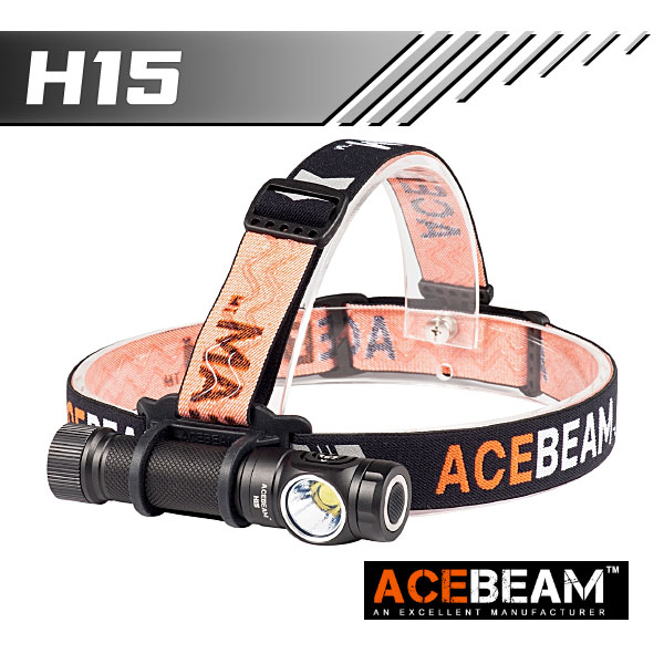 【ACEBEAM(エースビーム)】H15 Cree(クリー)XLamp XHP70.2 2500ルーメン/バッテリー装着★閃光ヘッドライト