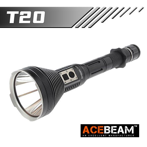 【ACEBEAM(エースビーム)】 T20 Cree(クリー)XLamp XP-L HI LED 1500ルーメン/275500cd ★閃光ハンドライト 米国 アメリカ