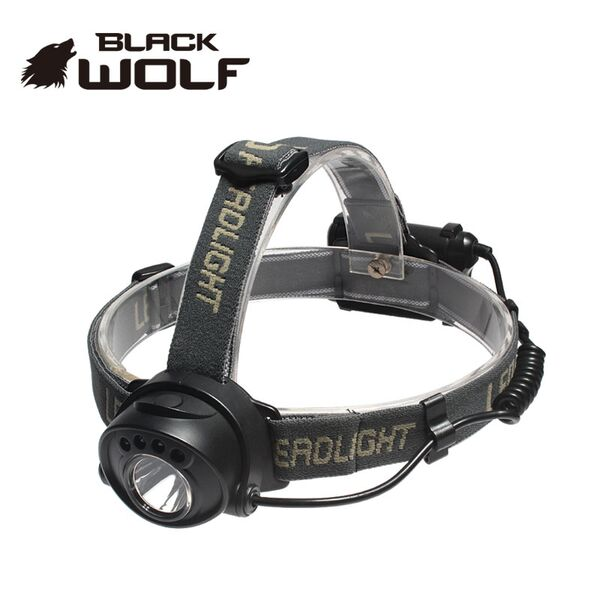 【BLACKWOLF(ブラックウルフ)】ヘッドライトHS-R5 CreeXLampXP-G2Emitter ★閃光ライト 米国 アメリカ