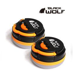 【BLACKWOLF(ブラックウルフ)】ランタン [モード変換] マルチLEDランタン ★明るさ180ルーメン ランタイム約20時間 単4電池/eneloop対応★2個セット