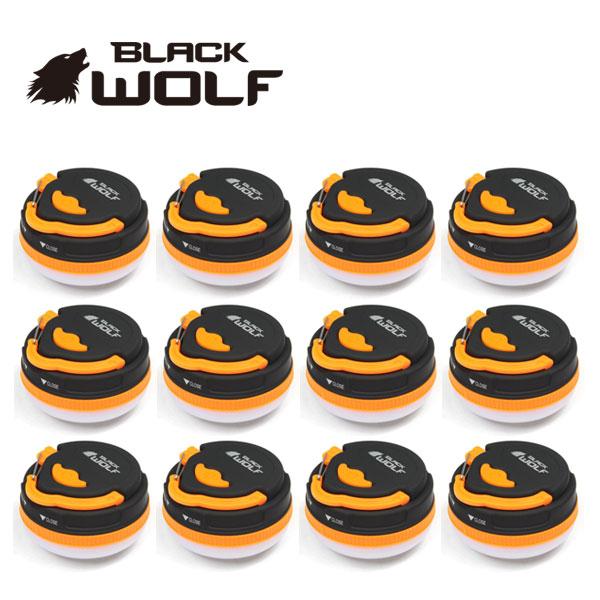 【BLACKWOLF(ブラックウルフ)】アウトレット マルチLEDランタン12個セット
