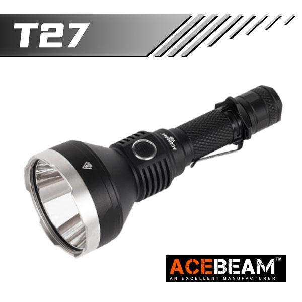 【ACEBEAM(エースビーム)】T27 /Cree(クリー)XLamp XHP35 LED搭載 1180ルーメン★閃光ヘッドライト