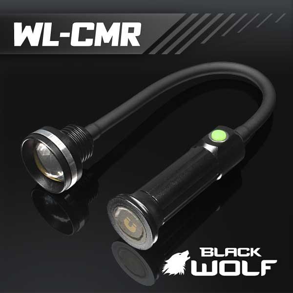 【BLACKWOLF(ブラックウルフ)】ワークライト ズームタイプ WL-CMR ★COB10W/Max900ルーメン/電源18650バッテリー・ビルトイン充電機能/ 閃光ライト