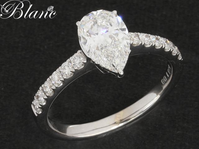 ノンブランド K18WG ダイヤモンド リング