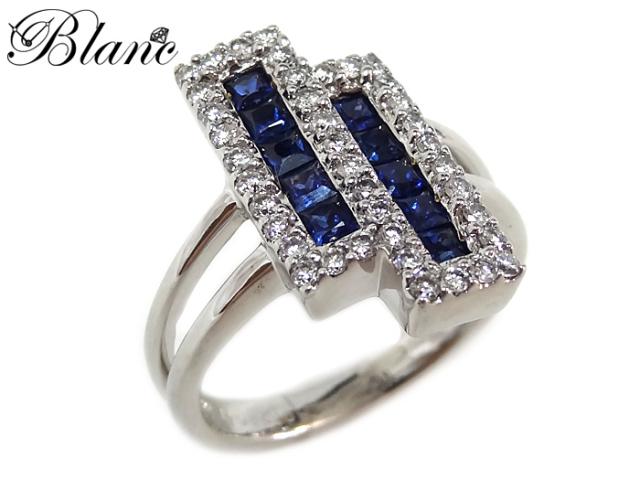 サファイヤ ダイヤモンドリング