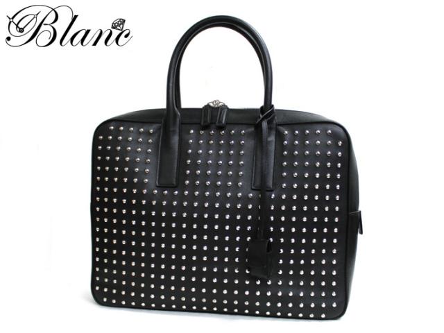 サンローランパリ ◆ スタッズ 2wayハンドバッグ