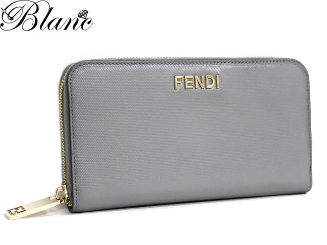 フェンディ ◆ ラウンドファスナー長財布